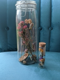 Dried Wildflower Large Jar